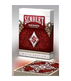 Ornate Scarlet (White Edition). Колода карт