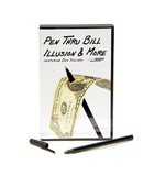 Pen Thru Bill Illusion & More by Magic Makers. Ручка сквозь купюру