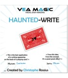 Haunted Write by Christophe Rossius. Призрачная надпись